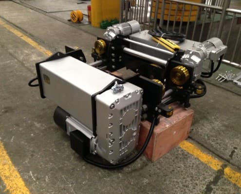 European type electric wire rope hoist