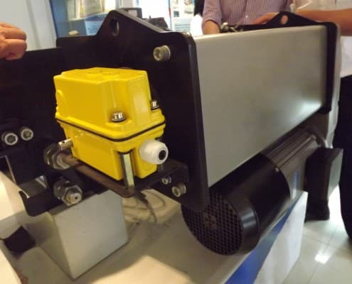 Georgia European type electric wire rope hoist