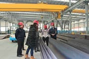 India customers visit factory